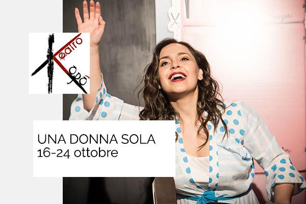 Biglietti - Una donna sola - Teatro Kopò - Roma (RM)