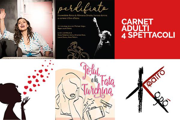Abbonamento -Adulti - Teatro Kopò - Roma (RM)