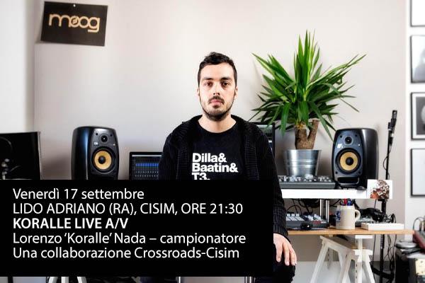KORALLE LIVE A/V - CISIM - Ravenna