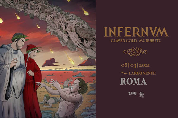 Biglietti - Claver Gold & Murubutu - Largo Venue - Roma (RM)
