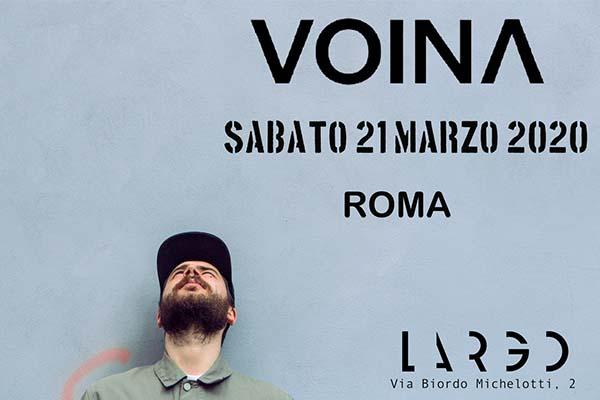 Biglietti- Voina - Largo Venue - Roma
