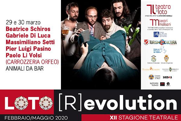 Biglietti - Animali da bar - Teatro del Loto - Ferrazzano