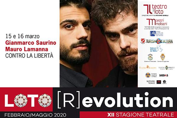 Biglietti - Contro la liberta' - Teatro del Loto - Ferrazzano