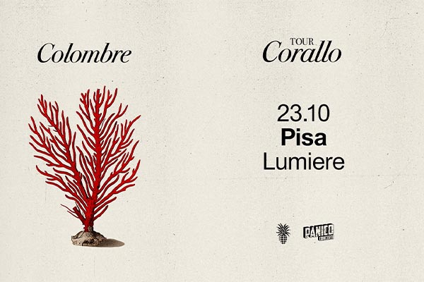 Biglietti - Colombre - Cinema Lumiere - Pisa (PI) Vicolo del Tidi, 6