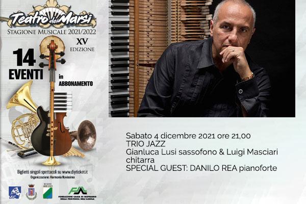 Danilo Rea Jazz  - Teatro dei Marsi - Avezzano (AQ) Biglietti