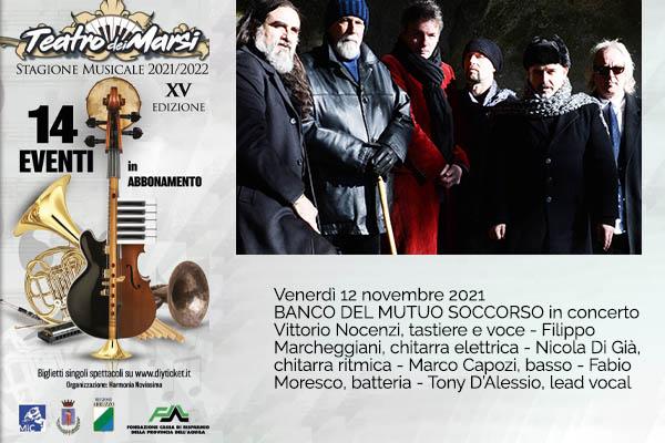 Banco del Mutuo Soccorso - Teatro dei Marsi - Avezzano (AQ)