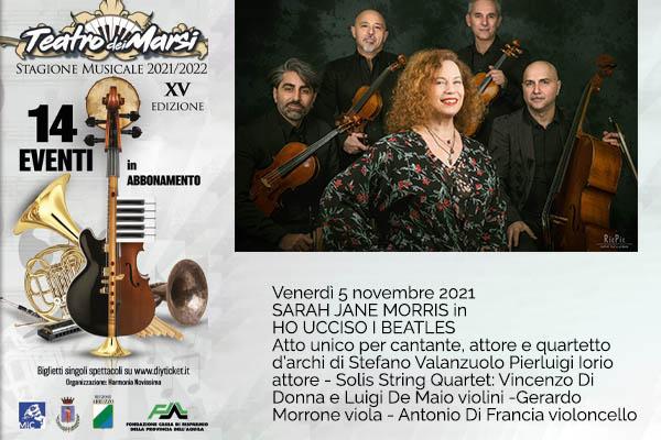 Sarah Jane Morris - Teatro dei Marsi - Avezzano (AQ)