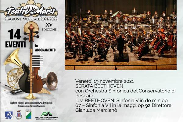 Orch.Sinfonica Conservatorio di Pescara|Teatro dei Marsi|Avezzano (AQ)