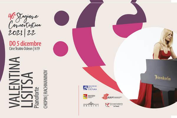 Biglietti - Valentina Lisitsa - Teatro Odeon - Catania (CT) - via Corridoni 19