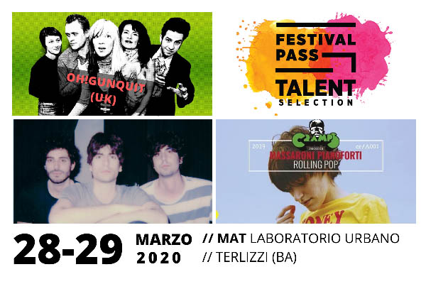 Biglietti - Pass Talent Selection - Arena MAT - Terlizzi (BA)
