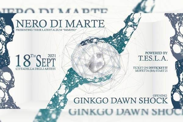Biglietti - Nero Di Marte - La Cittadella degli Artisti - Molfetta (BA)
