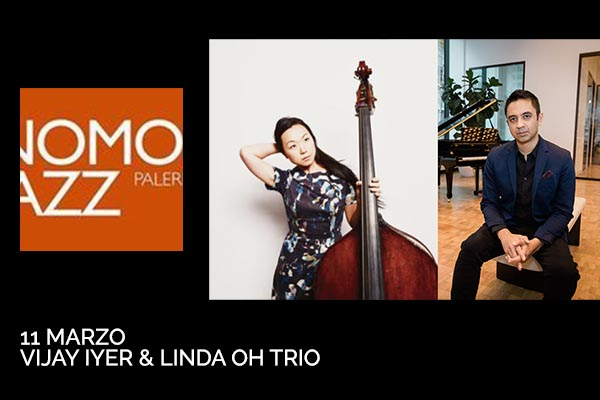 Biglietti - Vijay Iyer & Linda Oh Trio - Teatro Golden - Palermo (PA) - Via Terrasanta, 60