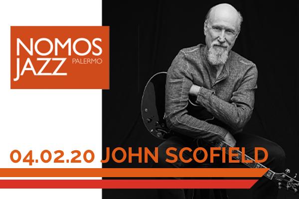 JOHN SCOFIELD - Teatro Golden Palermo Biglietti Jazz