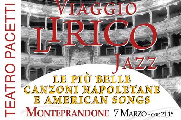 Biglietti - Viaggio Lirico - Auditorium Pacetti - Monteprandone (AP)