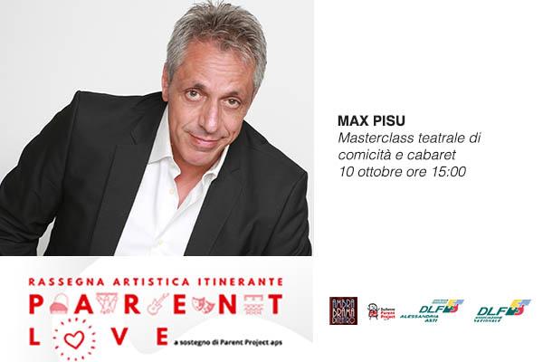 Biglietti - Max Pisu - Teatro Ambra - Alessandria