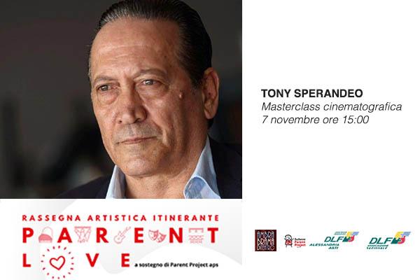 Biglietti - Tony Sperandeo - Teatro Ambra - Alessandria