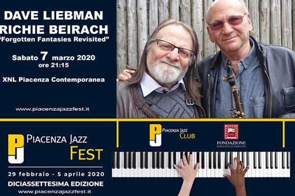 Biglietti - Dave Liebman & Richie Beirach - XNL Piacenza Contemporanea