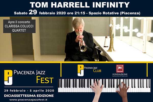 Biglietti -Tom Harrel Infinity (Clarissa Colucci Quartet) - Spazio Rotative - Piacenza