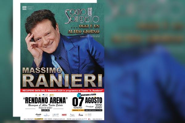 Massimo Ranieri - biglietti Rendano Arena