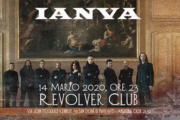 Biglietti - Ianva in concerto - Discoteca Revolver
