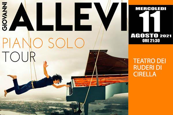 Giovanni Allevi - Piano Solo - Teatro dei Ruderi, Diamante (CS)