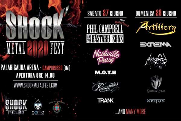 Biglietti - SHOCK METAL FEST 2020 - Arena PalaBigauda