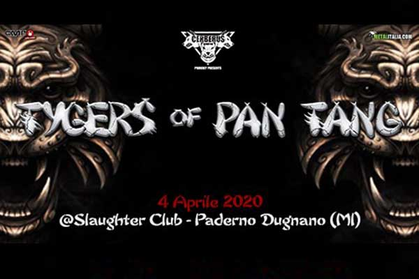 Biglietti - Tygers Of Pan Tang - Slaughter Club