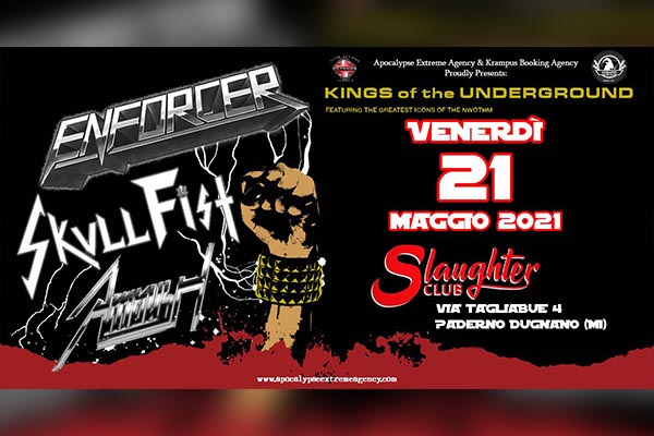Enforcer + Skull Fist  + Ambush live - Slaughter Club
