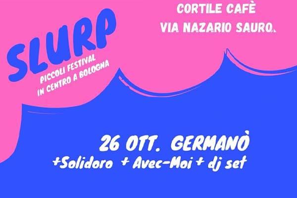 Biglietti - Germanò live - Cortile Cafè - Bologna (BO) - Via Nazario Sauro, 24/a