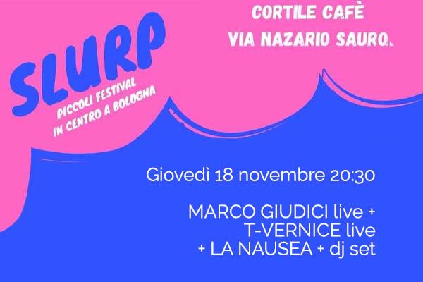 Biglietti - Marco Giudici live - Cortile Cafè - Bologna (BO)