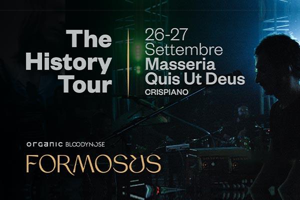 Biglietti - Formosus - Masseria Quis Ut Deus - Crispiano (TA)