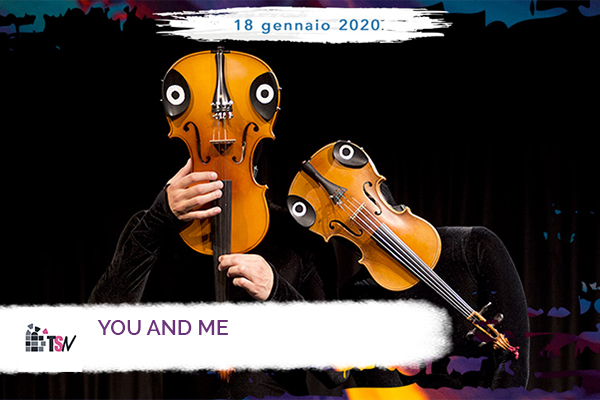BIglietti - Mummenschanz - You & Me - Teatro Superga - Nichelino (TO)