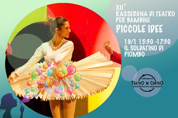 Biglietti Il Soldatino di Piombo - Teatro La Lucernetta - Como