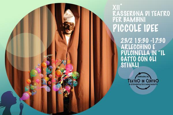 BIglietti - Il Gatto con gli Stivali - Teatro La Lucernetta - Como