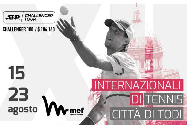 Biglietti - ATP Challenger 100 - Tennis Club - Todi