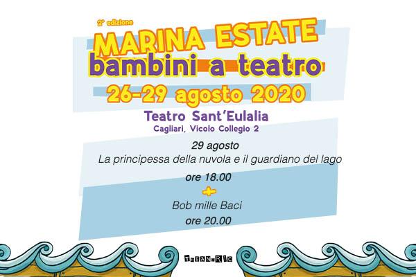 Abbonamento - Marina Estate 29/08/2020 - Teatro Sant'Eulalia - Cagliari
