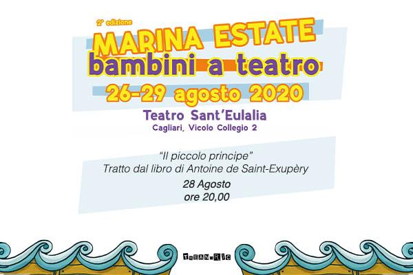 Biglietti - Il piccolo principe - Teatro Sant'Eulalia - Cagliari