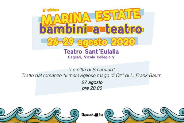 Biglietti - La città di Smeraldo - Teatro Sant'Eulalia - Cagliari