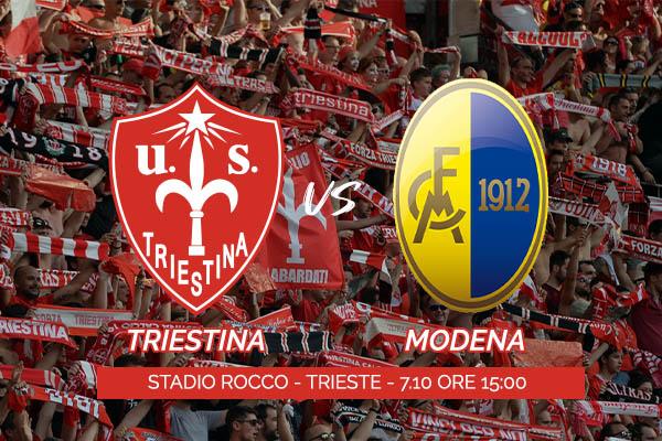 Triestina - Modena | Calcio Stadio Nereo Rocco Trieste - Biglietti