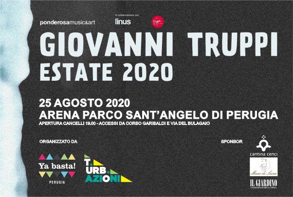 Biglietti - Giovanni Truppi - Parco Sant'Angelo - Perugia