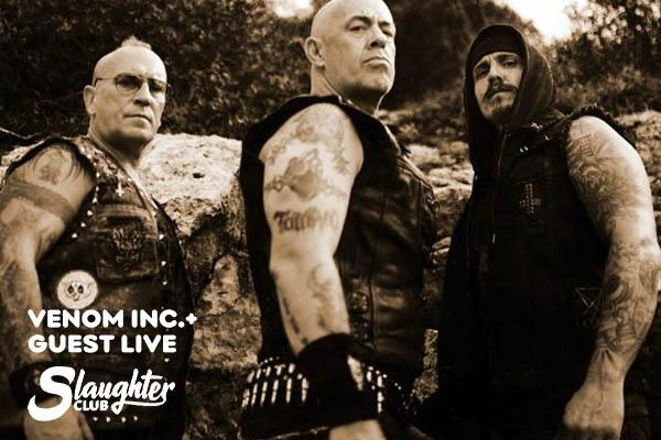 Venom Inc.+ guest live - Slaughter Club