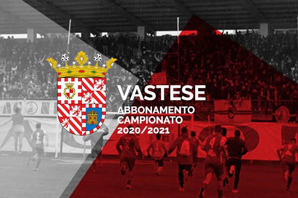 Abbonamento - Vastese SS 2020/2021 - Stadio Aragona - Vasto (CH)