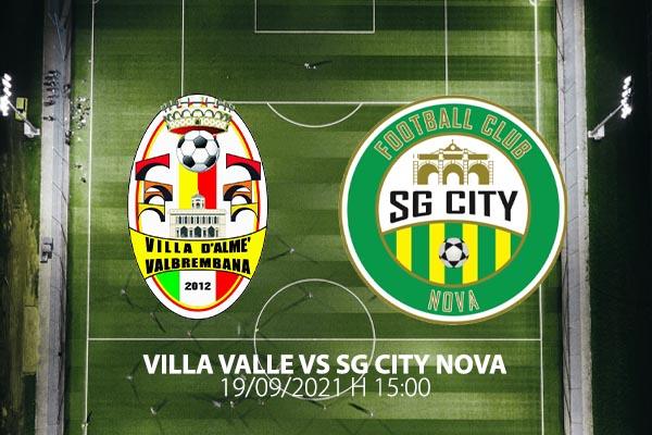 Biglietti - Villa Valle vs SG City Nova - Centro Sportivo Comunale Villa d'Almé