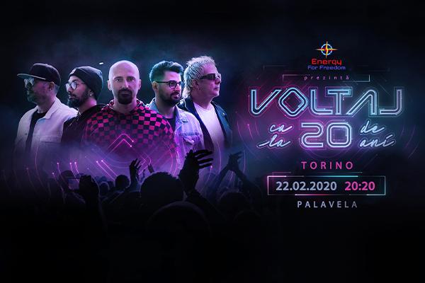 VOLTAJ in concerto - Palavela Torino Biglietti