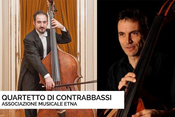Biglietti - Quartetto di Contrabbassi - Castiglione di Sicilia (CT
