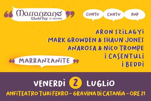 MWF 2021 - Marranzanite - Anfiteatro Turi Ferro- Gravina di Catania CT