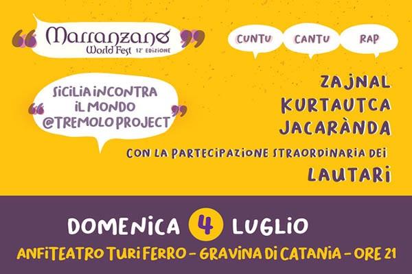 MWF 2021 - Tremolo Project - Anfiteatro Turi Ferro- Gravina di Catania CT