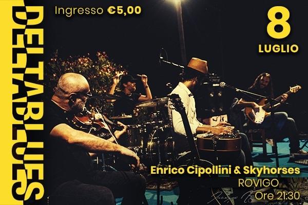 Enrico Cipollini & Skyhorses - Deltablues - Piazza Annonaria Rovigo