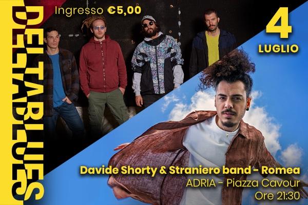 Davide Shorty & Straniero Band - Romea - Adria Biglietti