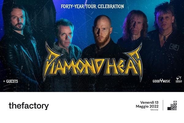 Diamond Head + Guests - The Factory biglietti